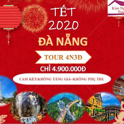 TOUR ĐÀ NẴNG 4 NGÀY 3 ĐÊM TẾT NGUYÊN ĐOÁN 2020 : HỘI AN – BÀ NÀ – HUẾ-SƠN TRÀ