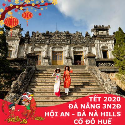 TOUR ĐÀ NẴNG 3 NGÀY 2 ĐÊM TẾT NGUYÊN ĐÁN 2020: HỘI AN – BÀ NÀ – HUẾ